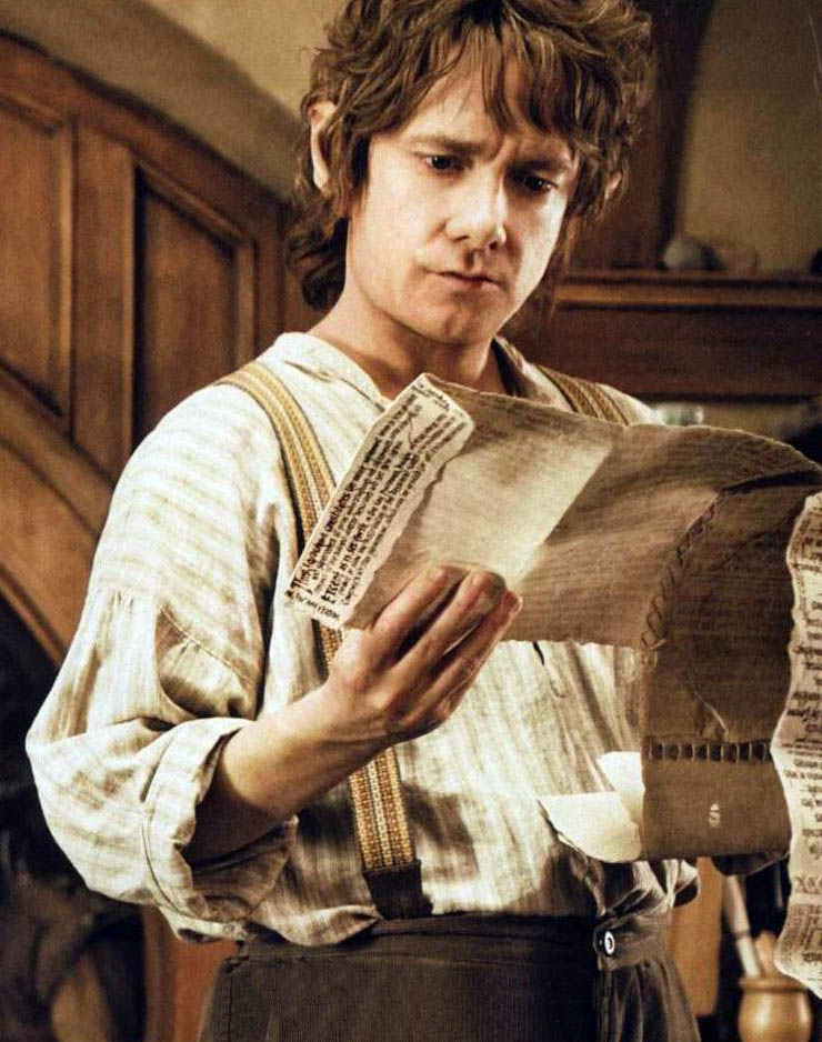 A look at the main character bilbo baggins in the hobbit