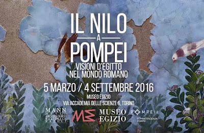 'The Nile in Pompei' at the Egyptian Museum in Turin