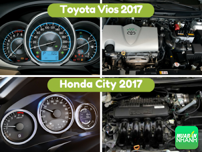 Giữa Toyota Vios 2017 và Honda City, tôi biết chọn xe nào 02
