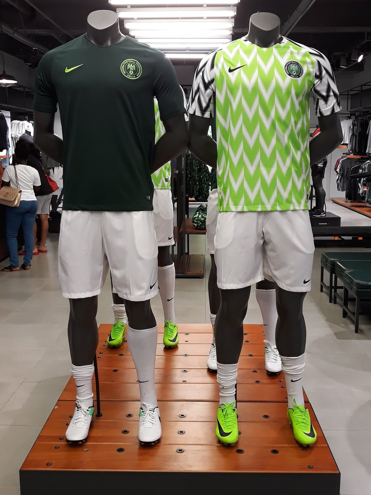 Breaking: Super Eagles official World Cup Jersey sold out on launch day