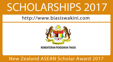 New Zealand ASEAN Scholar Award 2017