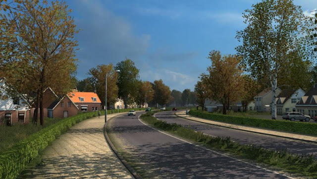 ets2 mods, euro truck simulator 2 mods, ets2 weather mod, grime's weather mods, ets2 realistic mods, ets2 realistic weather, ets2 graphic mods, recommendedmodsets2, ets 2 early autumn weather mod v5.6 screenshots2