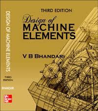 Design of Machine elements by V B Bhandari | Mechanical