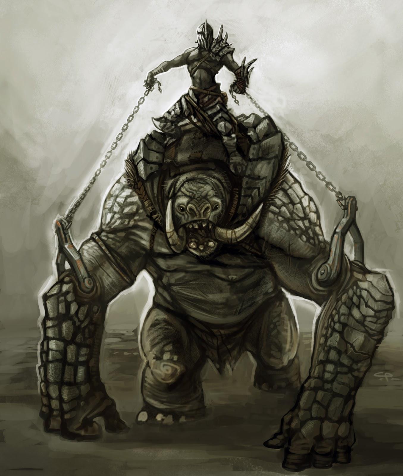 Troll rider