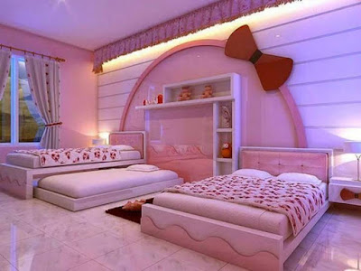 childrens pink bedroom furniture
