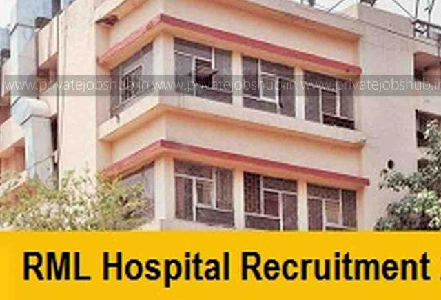 RML Hospital Recruitment