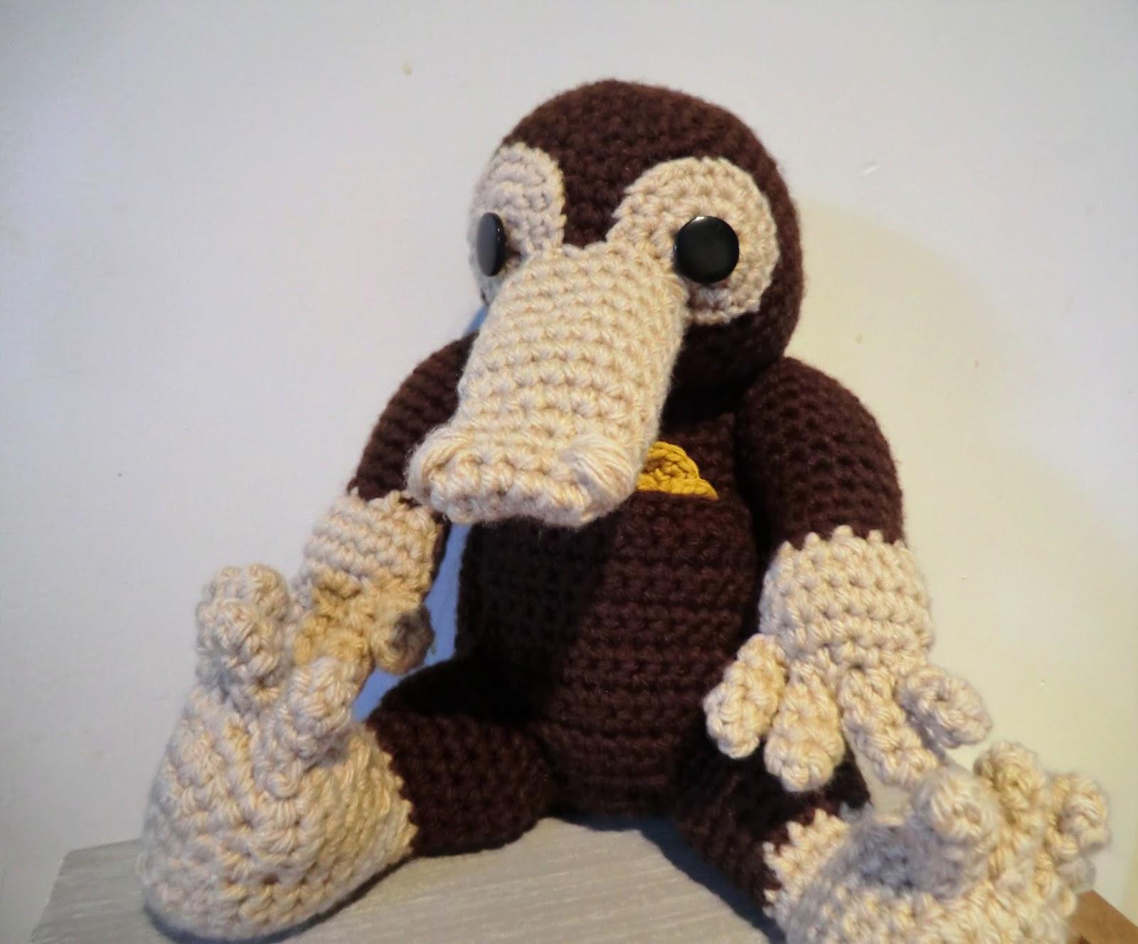 Baby Niffler Amigurumi | Craftsy | Animal dolls, Niffler, Crochet ... | 1327x1600