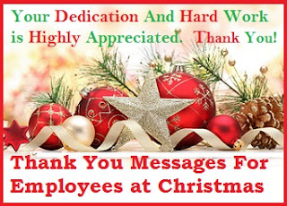 Appreciation Messages and Letters! : Employees