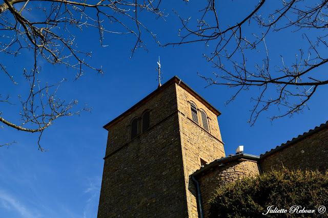 Eglise d'Oingt dans le Beaujolais