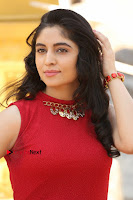 Telugu Actress Zahida Sam Latest Pos in Red Gown at RF Films New Movie Opening  0078.JPG