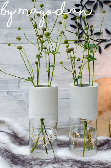 Upcycling Glasflaschen