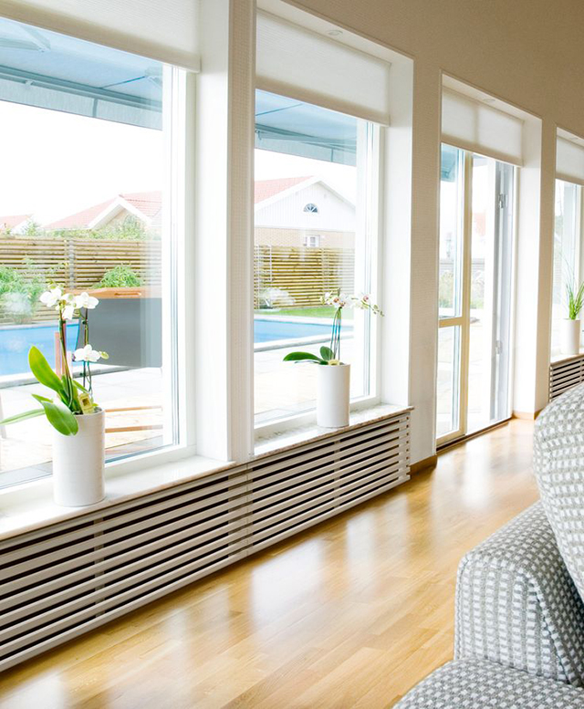 Milowcostblog inspiraci n disimular radiadores - Cortinas encima de radiadores ...