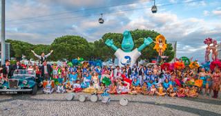 Carnaval em Lisboa no Parque das Nações
