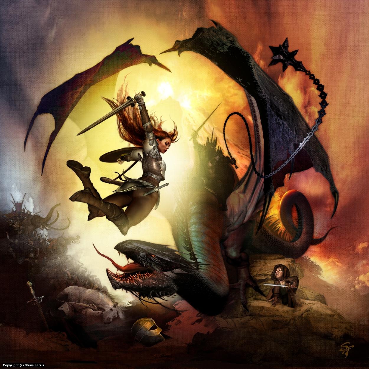 The Geeky Nerfherder Artoftheday Eowyn Vs Witchking By Legend Of Five Rings Tears Amaterasu Exp Steve Ferris