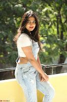 Neha Deshpande in Spicy Denim Jumpsuit and Whtie Crop Top March 2017 092.JPG