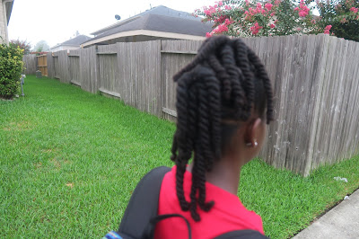 FIRST DAY OF SCHOOL {2016-2017) 3rd and 6th grade | Natural Hair Hairstyles