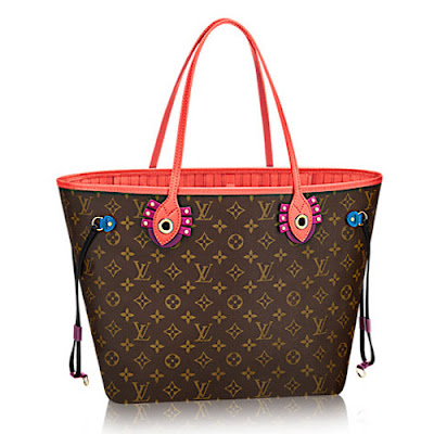 Louis Vuitton Neverfull Louis-Vuitton-Monogram-Coated-Canvas-Neverfull-MM-Totem-M41663