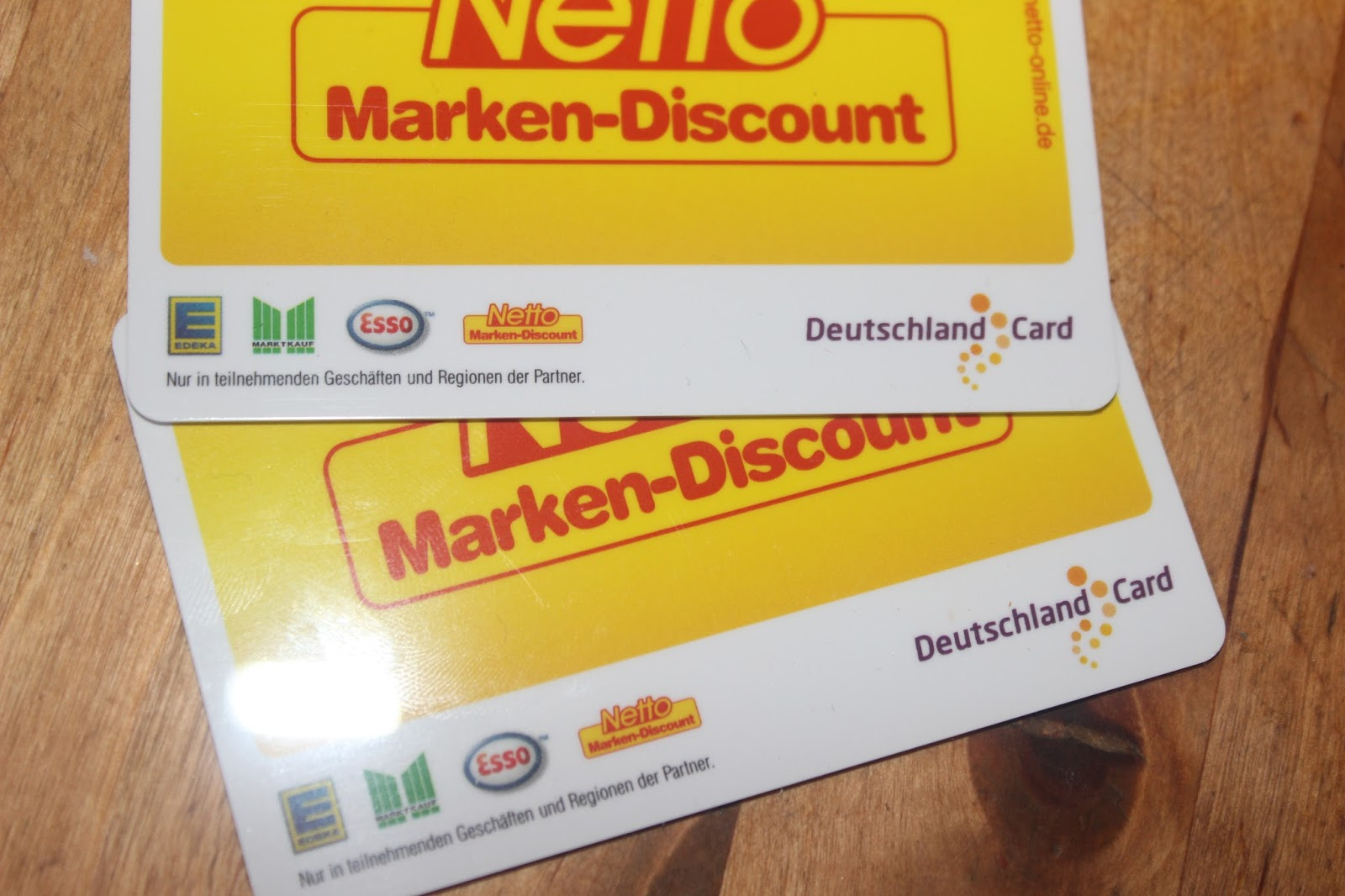 Netto Karte.Deutschland Card Netto Karte