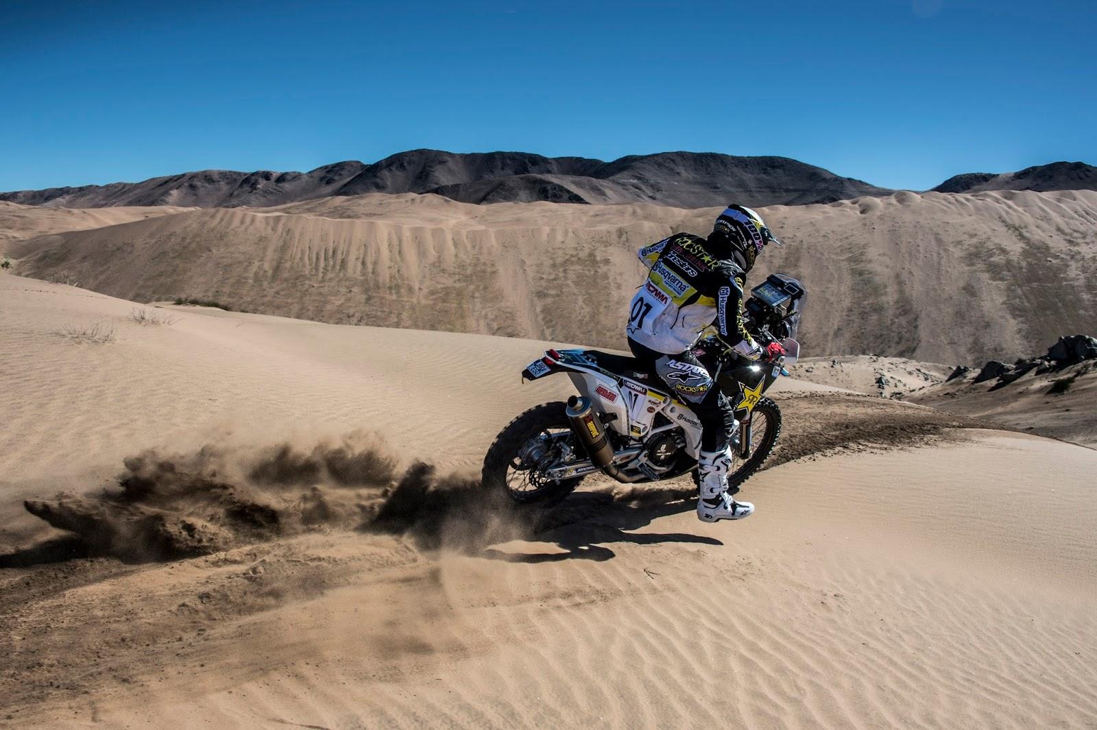 Quintanilla se impone en la primera etapa del Atacama Rally