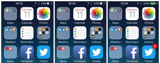 Phinexi-phone-charging-battery-case-review-collage-of-screenshots-of-iphone-charging