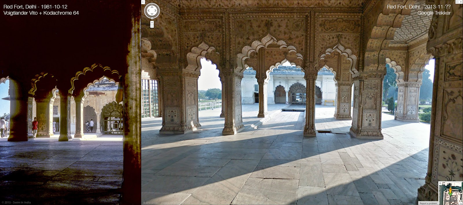 About Retro Blogging Back At Red Fort Delhi 33 Years