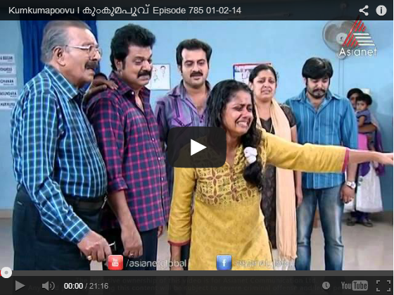 Watch Asia Serial Kumkumapoovu Latest Episode