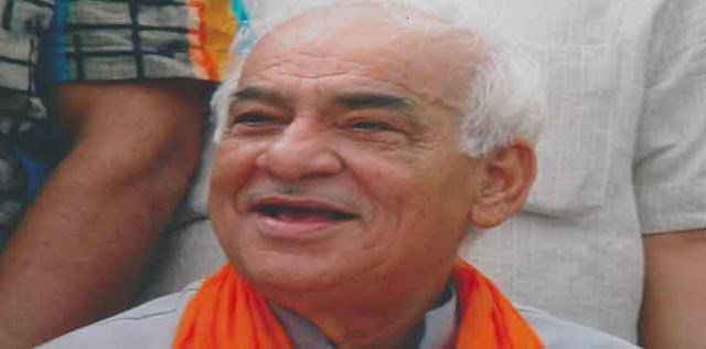 राजस्थान के पूर्व राज्यपाल मदनलाल खुराना का निधन