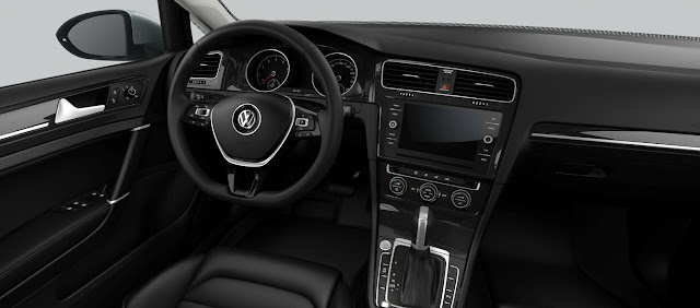 VW Golf 2018 Highline TSI Automático - Completo - interior