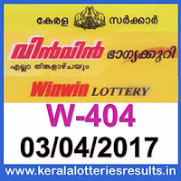 Kerala Lottery Result Today 03-04-2017 Win-Win Lottery Result W-404, kerala-government-result-gov.in-picture-image-images-pics-pictures