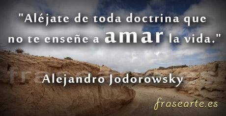 Frases para amar de Alejandro Jodorowsky