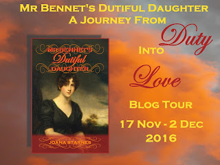 Blog Tour: Mr Bennet's Dutiful Daughter by Joana Starnes