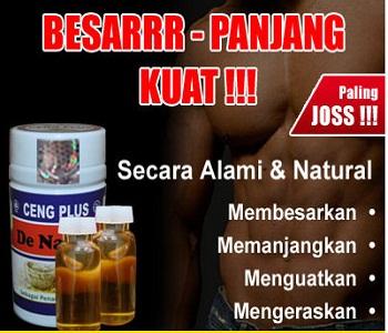 obat kuat pria yang sehat alami de nature ind