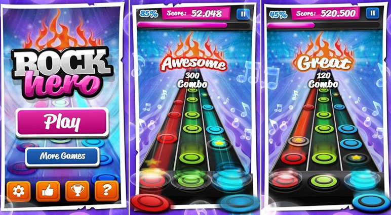 Top 7 Game Guitar Hero Android Terbaik Offline Online