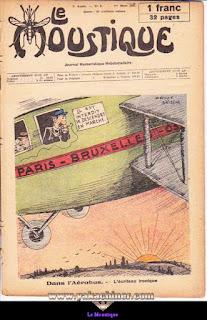 Le Moustique, Journal Humoristique Hebdomadaire, numéro 9, année 1931