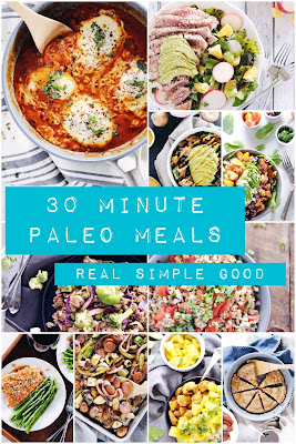 30 Minute Paleo Meals eBook Review and Bonus Cuban Burger with Plantain Fries Recipe