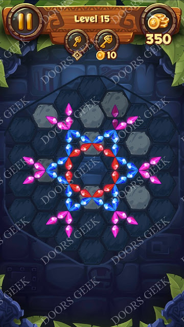 Gems & Magic [Emerald] Level 15 Solution, Walkthrough, Cheats