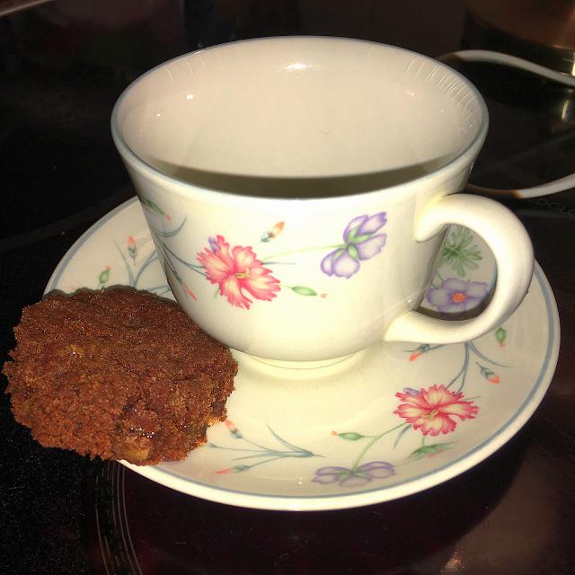 cookie and mug