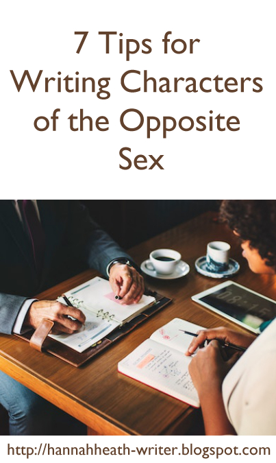 7 Tips for Writing Characters of the Opposite Sex