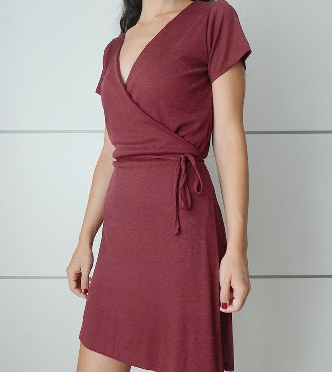 vestido-cruzado-manga-corta