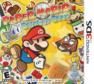 Paper Mario: Sticker Star, 3DS, Español, Mega, Mediafire