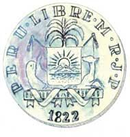 La moneda de la quina del Escudo del Perú