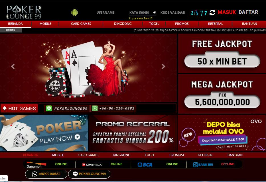 Pro id Poker PKV | Poker Lounge99 | Pro.ID PKV