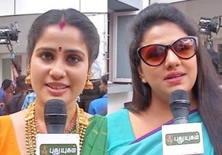 Siva Manasula Pushpa movie Shooting Spot Team Interview   Red Carpet   Puthuyugam Tv