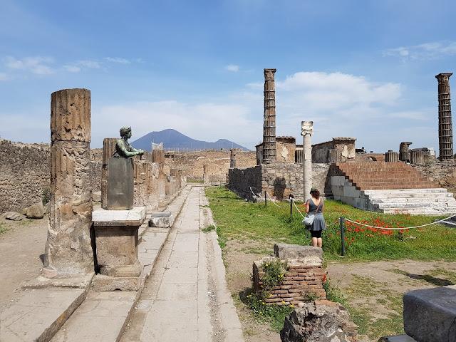 Pompei itinerario in Campania