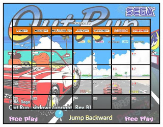 Primy Retro: Calendario Arcade 2015