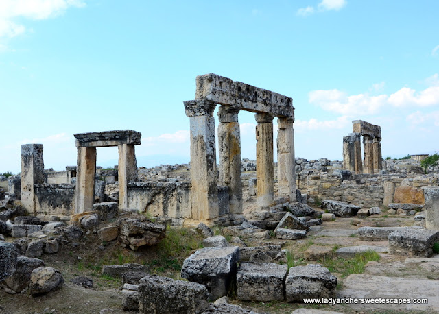 ancient ruins of Hierapolis Pamukkale