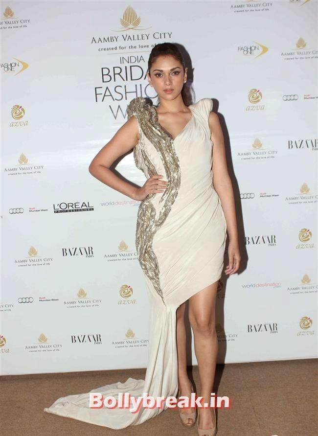 Aditi Rao, Bollywood Celebs at India Bridal Fashion Week