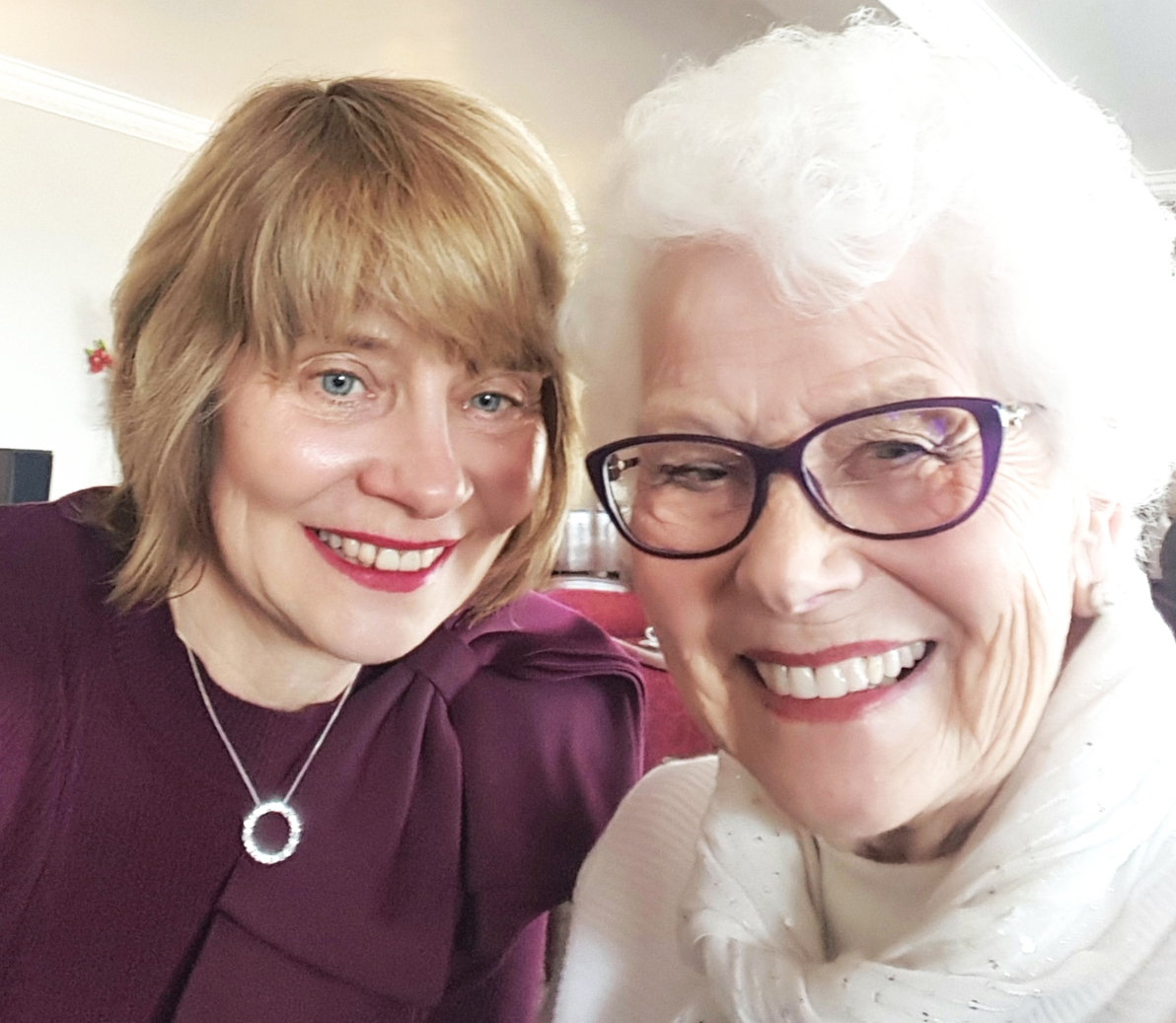Mother's Day lunch in Torquay for June Tyler, 84, and daughter Gail