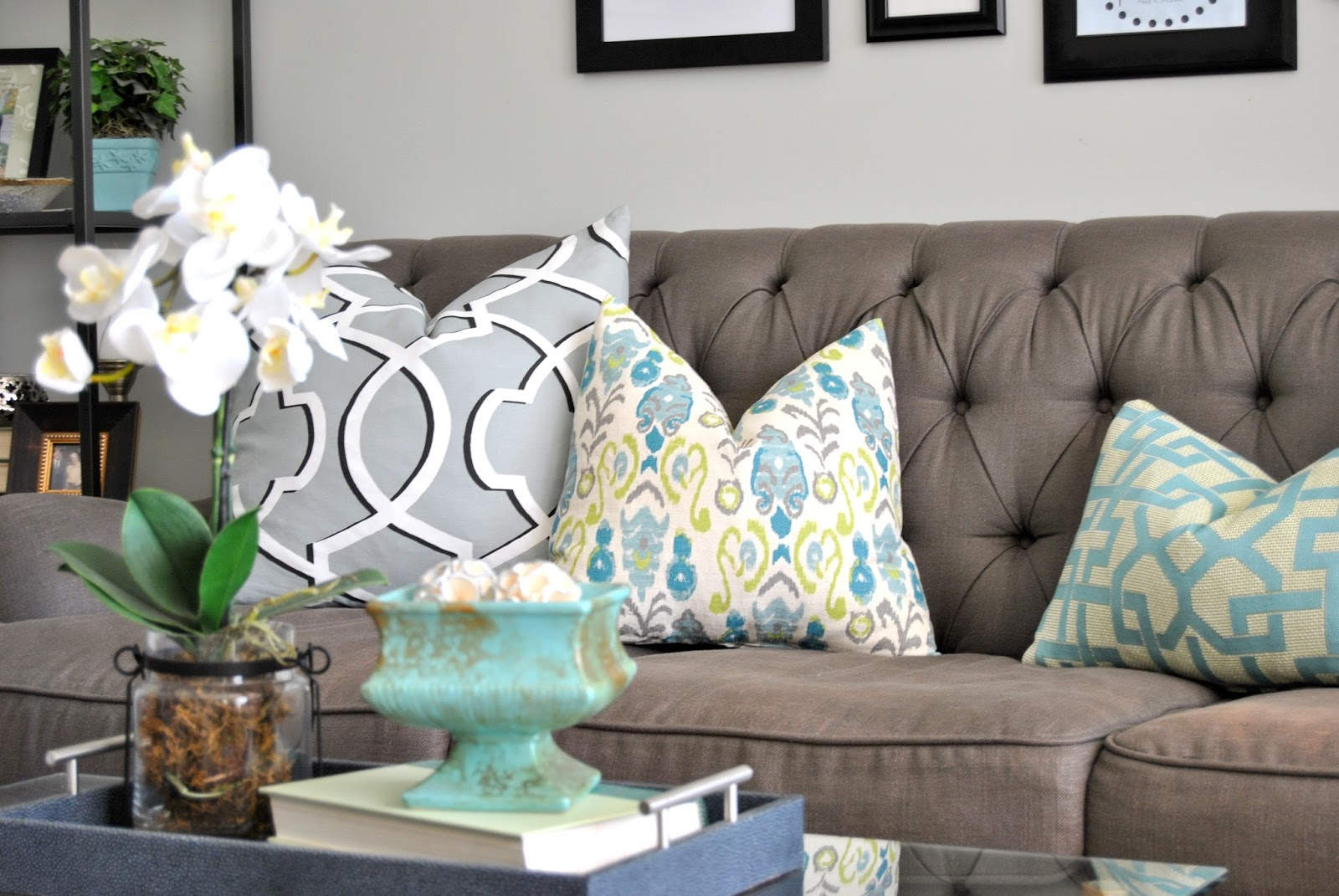 Blog Hop Brighten Your Home Bright Spaces White Interiors Pillows
