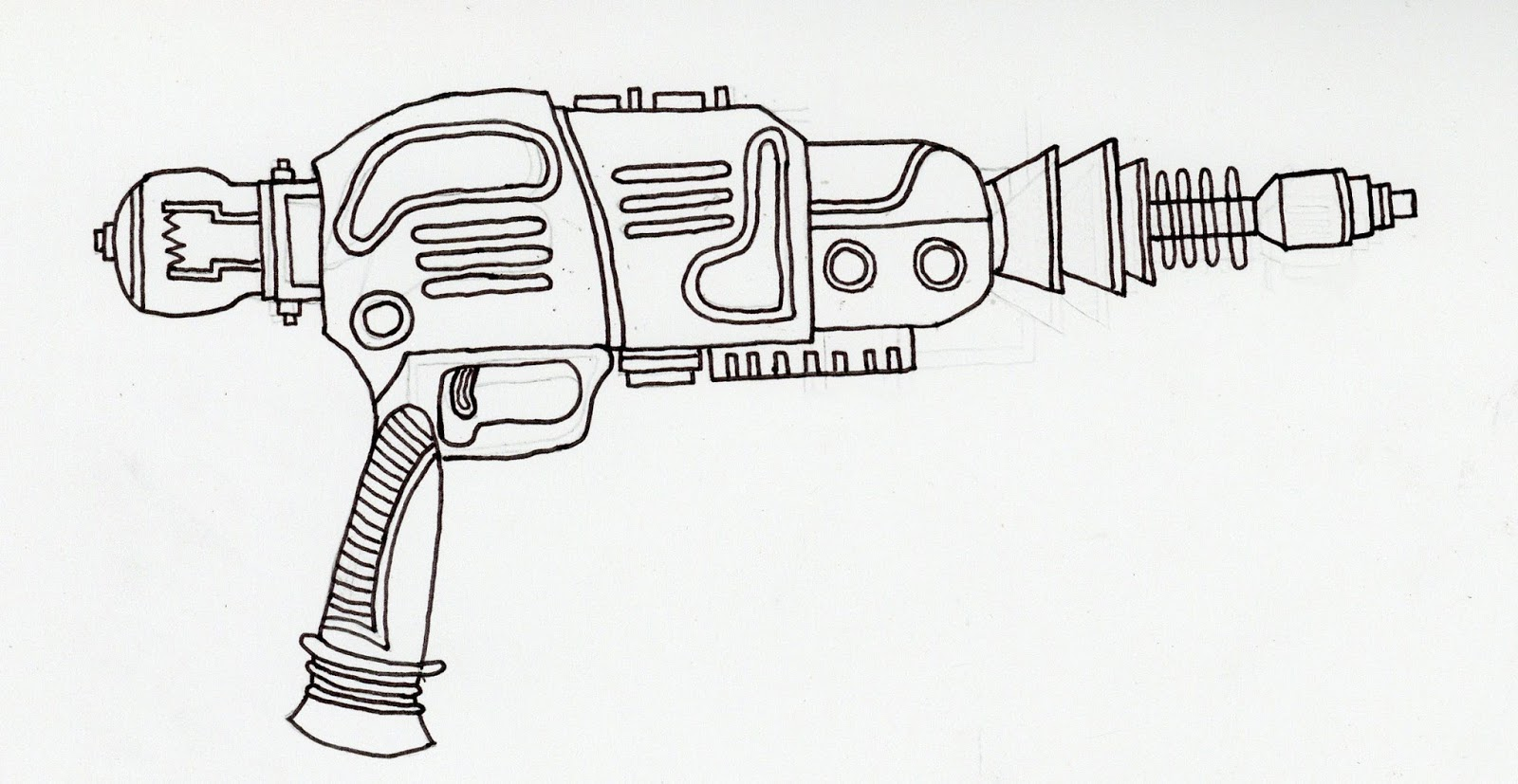 Hayden Wakeling Gaming Futuristic Gun Designs
